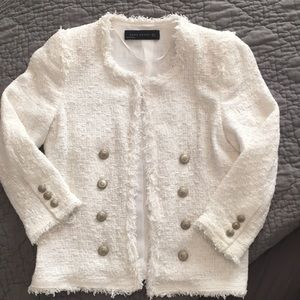 Zara Jacket with silver buttons